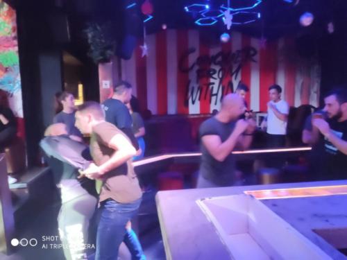 bar fight krav maga