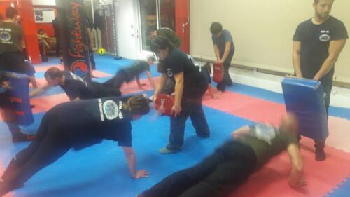 Training with Gabi Noah